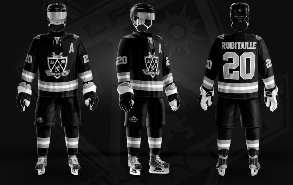 more photos 7b553 f1ce9 LA Kings – Back In Black (& White) – Christopher Hyzy