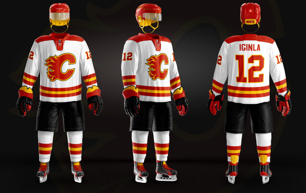 the latest c91cb 74d01 Calgary Flames – Old & New – Christopher Hyzy