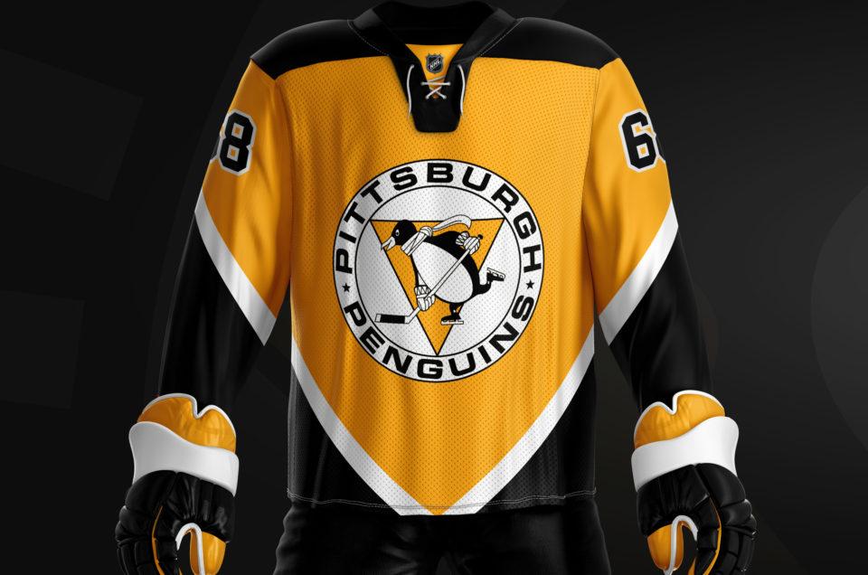 Pittsburgh Penguins - Alternatively Retro