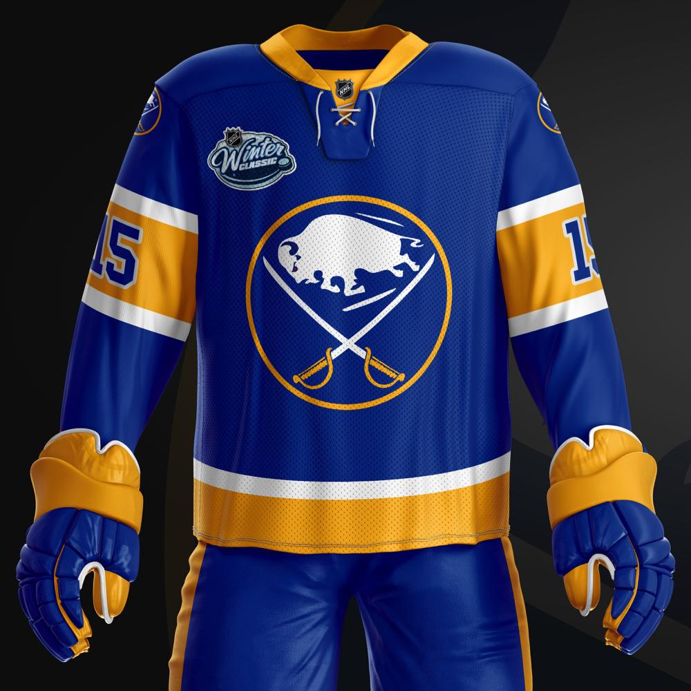 online retailer e78a6 31138 buffalo sabres winter classic jersey